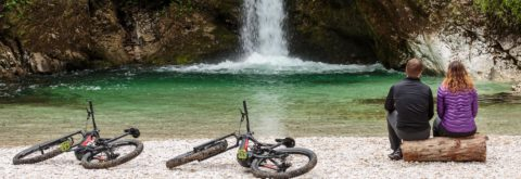 "<span class=""slider-title"">GIFT CARD</span>DISCOVER NATURAL WONDERS OF SLOVENIA WITH PREMIUM E-MOUNTAIN BIKES"