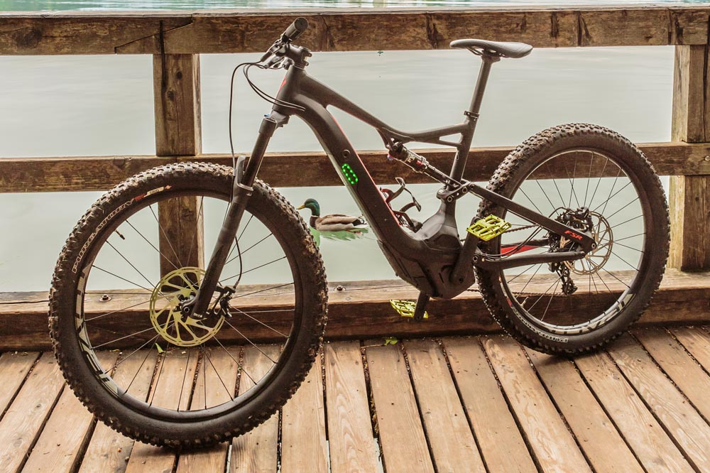 Try the premium E-mountain bikes Specialized Levo